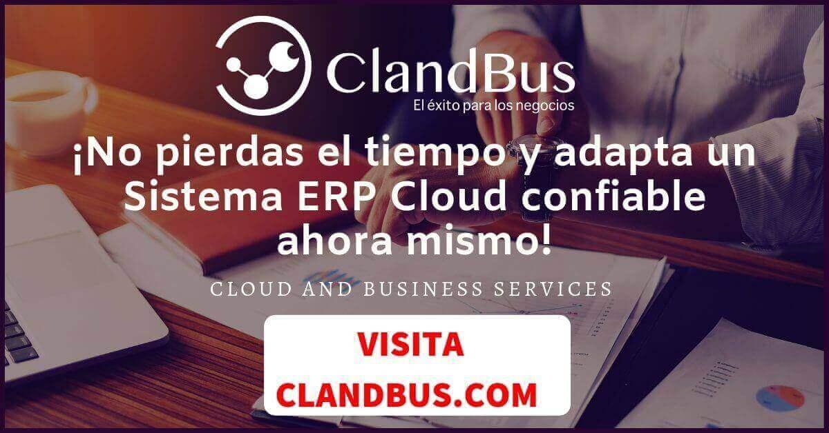 Sistema ERP - ¡No pierdas el tiempo y adapta un Sistema ERP Cloud confiable ahora mismo!