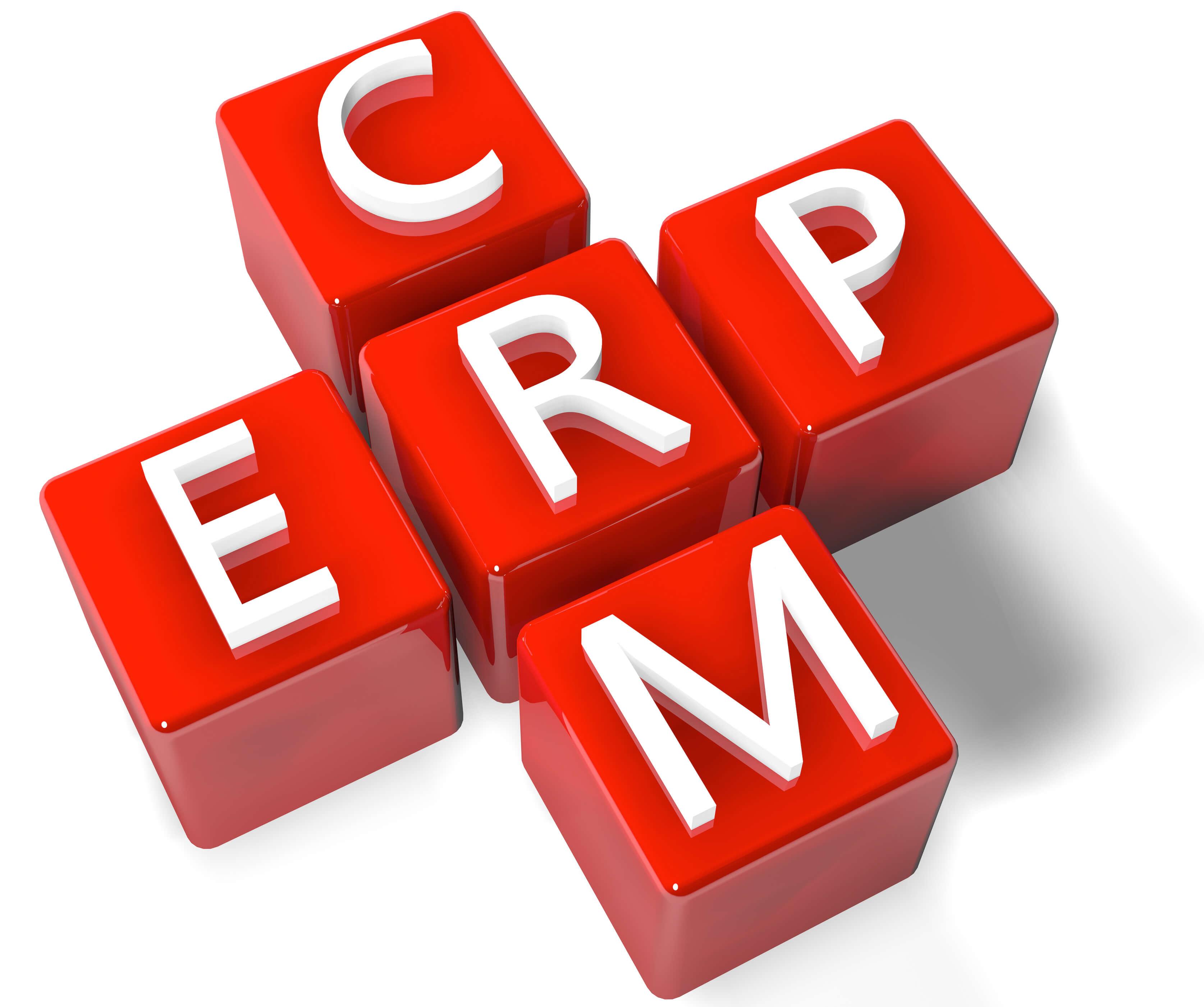 El CRM es un complemento del ERP , y uno funciona en base del otro