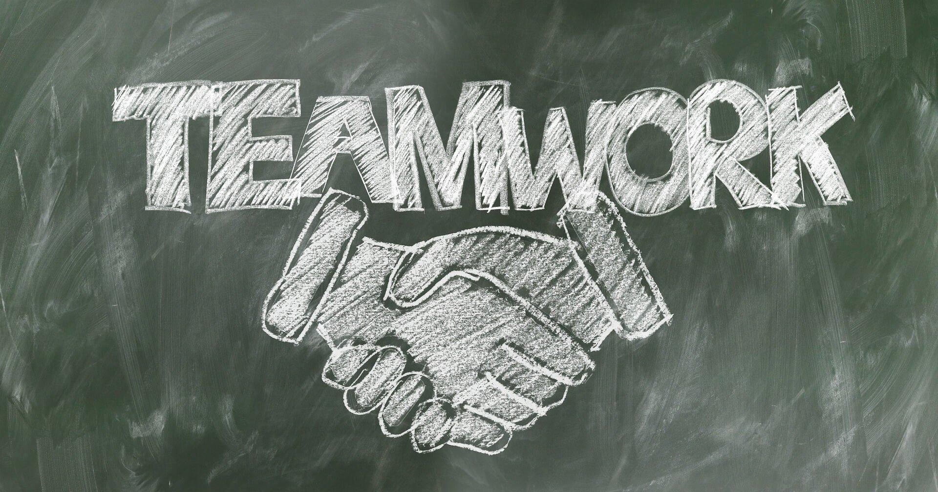 El mejor trabajo en equipo es la unión