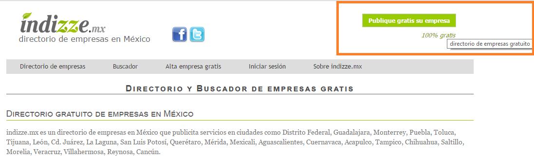 Indizze - Directorio empresas - ClandBus - Mexico