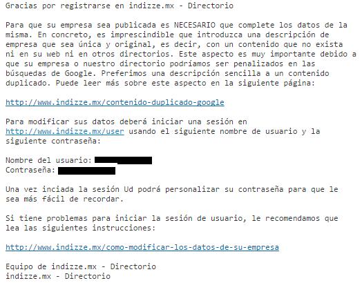 Indizze - Directorio Empresas - ClandBus - México