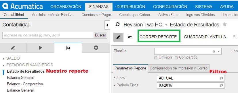 Cómo administrar el dinero de un negocio - Estado de Resultados Con Acumatica - ClandBus