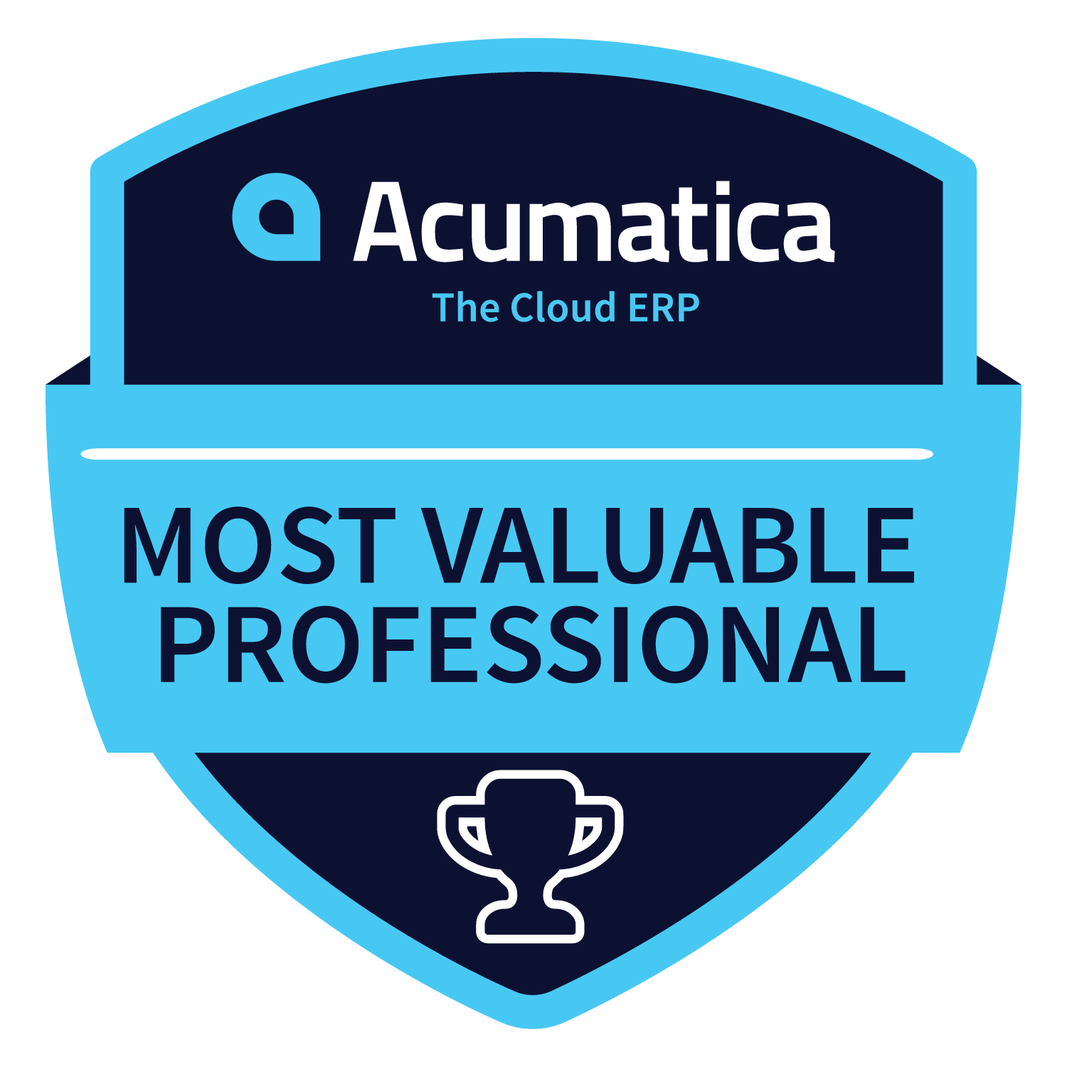 ClandBus Team has Acumatica MVP Badge