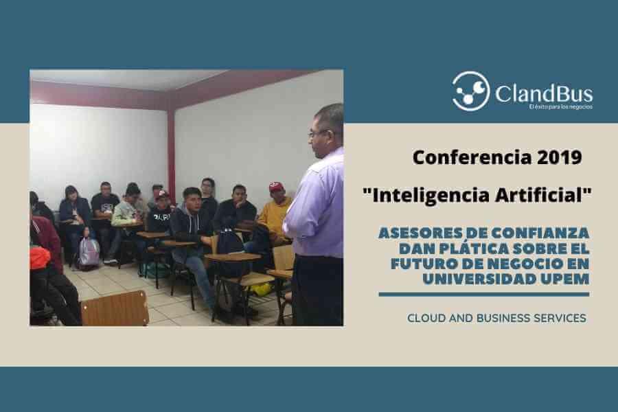 INTELIGENCIA ARTIFICIAL - Conferencia 2019 ClandBus