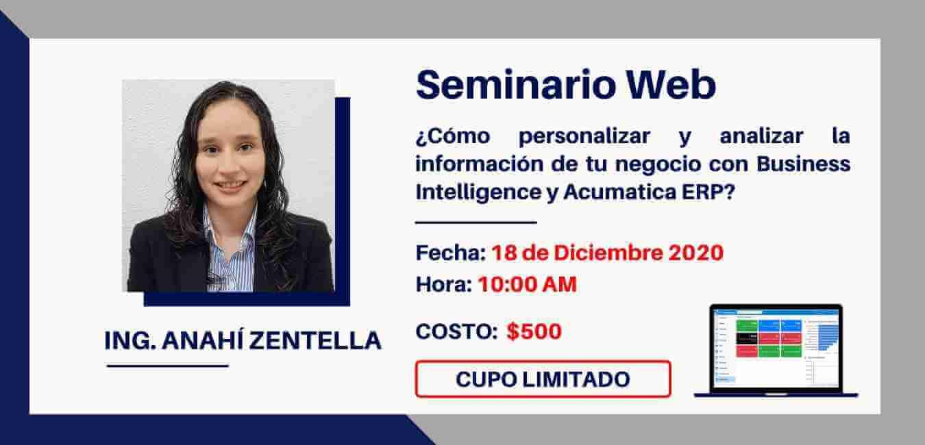 SEMINARIO BAJO DEMANDA - ¿COMO UN Sistema ERP CLOUD AUMENTA LA SEGUIRDAD EN TU EMPRESA