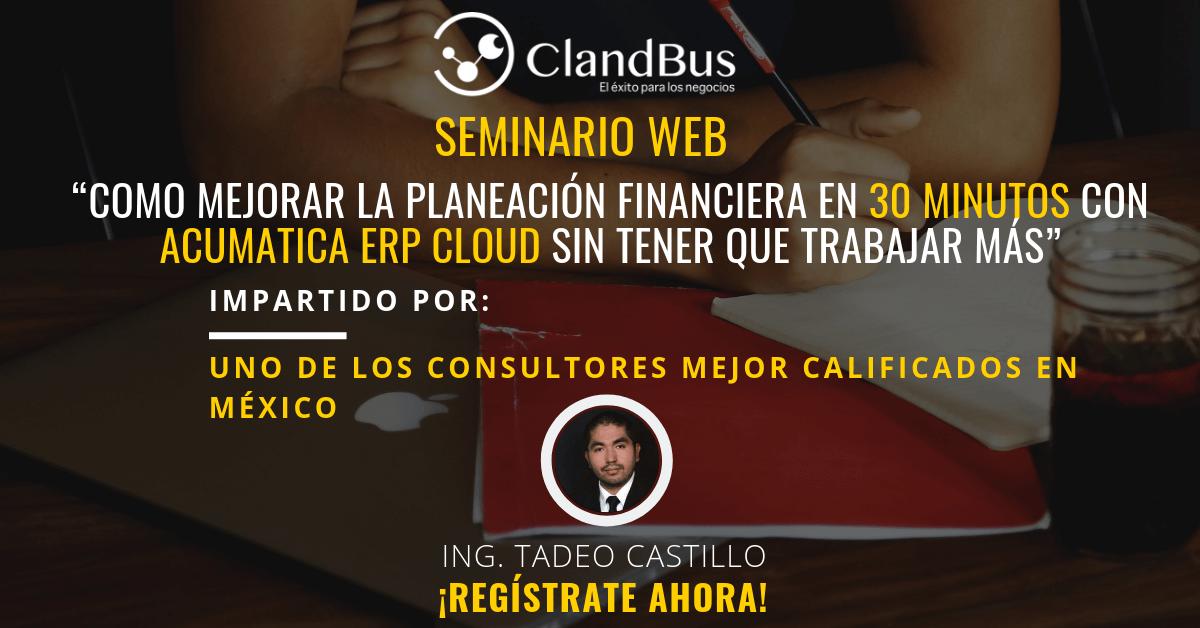 SEMIANRIOS BAJO DEMANDA - MEJORA LA PLANEACIÓN FINANCIERA